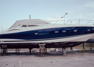Hull Wrap & Interior Refitting ~ Sunseeker Portofino 53 //