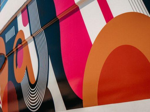Hull Wrap in Custom Design ~ Fountaine Pajot Lipari 41 //