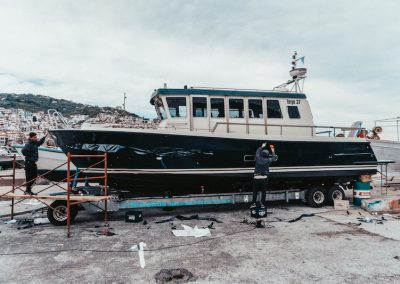 HULL WRAP ~ Botnia Targa 37 // Yacht Wrapping